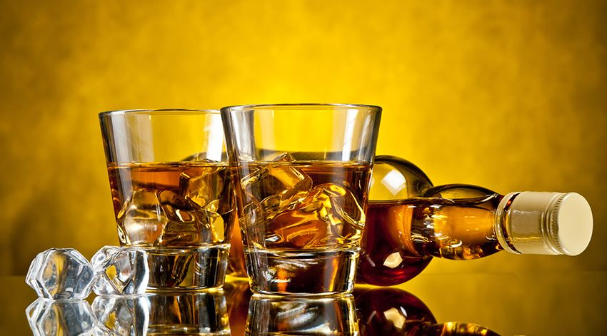 Avoid alcoholic and caffeinated beverages.