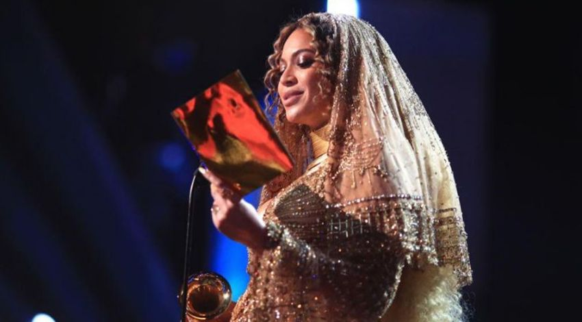Beyoncé made a stunning acceptance speech.