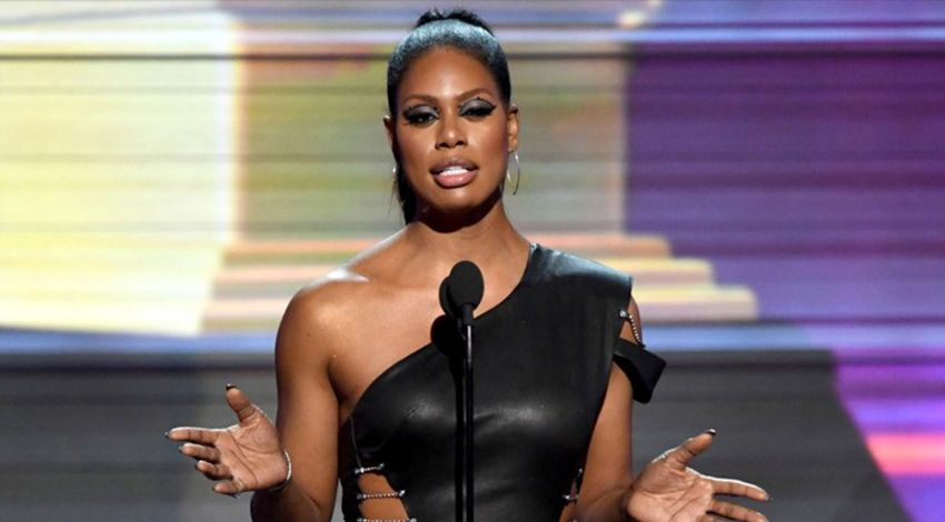 Laverne Cox raised awareness regarding trans-rights.