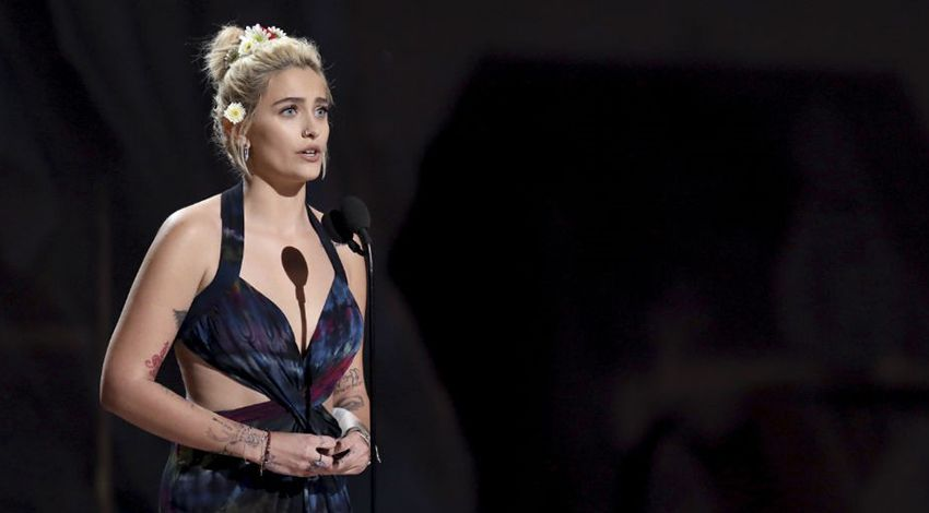 Paris Jackson calls for action to help the pipeline protestors.